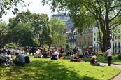 Kromě množství památek nabízí studium v Londýně také nespočet krásných velkých zelených parků, kde můžete relaxovat