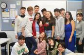 Studenti letního kurzu pro děti a mládež se velice snadno spřátelí a mnohdy jim přátelství vydrží po celý život