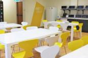 Vybavení školy je velice hezké, čisté a moderní, ELC Sydney
