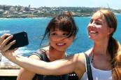 Studentky během odpoledního výletu, ELC Sydney v Austrálii