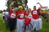 Tradiční zábavný běh v Bournemouth