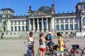 Studenti na jazykovém kurzu německého jazyka na škole Inlingua Berlín v Německu
