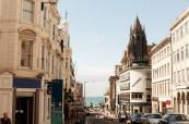 Pohled na letní Brighton