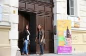 Budova jazykové školy ActiLingua ve Vídni v Rakousku