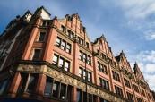 Budova školy British Study Centres se nachází přímo v centru Manchesteru