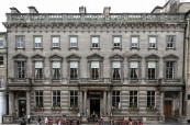 Budova jazykové školy BSC v Edinburghu