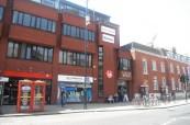 Budova jazykové školy LAL v Londýně