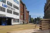 Budova jazykové školy pro dospělé studenty LSI Portsmouth