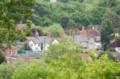 Vesnice Wheatley, kde sídlí škola CES Oxford