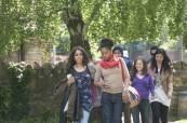 Studenti jazykového kurzu na cestě do školy CES Oxford
