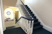 Typické anglické prostory školy s malou kantýnou Centre of English Studies Harrogate