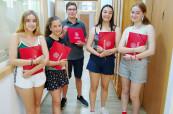 Studenti letního jazykového kurzu španělštiny Colegio Maravillas v Benalmádeně, Málaga