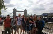Studenti LTC Eastbourne na exkurzi v Londýně
