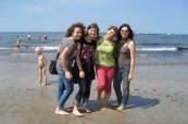 Studenti německého jazyka na výletě se školou Inlingua Berlín Německo