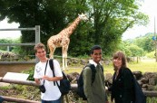 Studenti angličtiny během exkurze, TIS Torquay