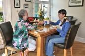 Ubytování v hostitelské rodině je skvělou příležitostí k procvičování anglického jazyka