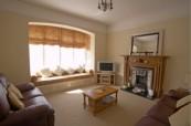Obývací pokoj hostitelské rodiny