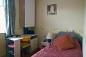 Pokoj pro studenta v hostitelské rodině