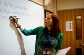 Ve výuce anglického jazyka jsou používány interaktivní pomůcky