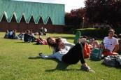 Studentky angličtiny během letního jazykového kurzu, ATLAS Dublin Irsko