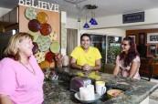 V jazykové škole LAL Fort Lauderdale se studenti mohou občerstvit