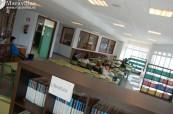Knihovna střední školy Colegio Maravillas ve Španělsku