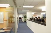 Moderní prostředí jazykové školy EC v San Franciscu, USA