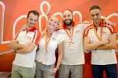 Tým koordinátorů školy LAL Malta Sliema