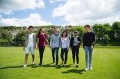 Studenti letního jazykového kurzu, EC Brighton