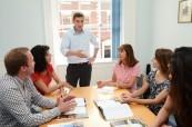 Výuka v jazykovém kurzu angličtiny pro manažery probíhá v malých skupinkách a studentům je poskytnut individuální přístup, English in Chester, Anglie