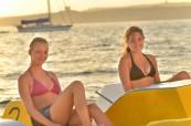 Projížďka na lodičkách při západu slunce BELS Malta