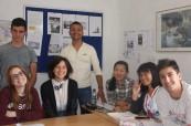 Studenti jazykového kurzu na škole Concorde International