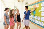 Studenti v jazykové škole English in Cyprus, Limassol, Kypr
