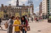Orientační procházka po městě usnadní novým studentům první dny, CES Leeds