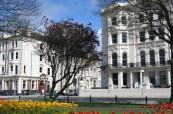 Umístění školy na Palmeira Square Brighton