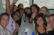 Plavby jsou oblíbenou aktivitou všech studentů školy BEET Bournemouth