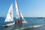 Oblíbenou aktivitou na slunečném ostrově Kypr je také plachtění, English in Cyprus, Limassol, Kypr