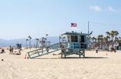 Krásné pláže, Kalifornie USA