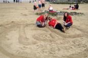 Volné odpoledne studentů LAL Torbay na blízké pláži