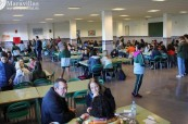 Střední škola Colegio Maravillas disponuje krásnými prostory a velkou jídelnou