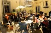Studenti jazykové školy LSF Montpellier ve Francii mohou využívat také terasu, která ke škole náleží