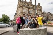 Orientační procházky po krásném městečku Harrogate jsou studenty velice oblíbené Centre of English Studies