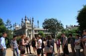 Škola ELC Brighton připravuje pro své studenty také volnočasový program začínající prohlídkou města