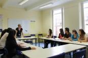 Lekce anglického jazyka probíhají na škole English in Chester v malých skupinách