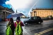 Počasí ve Skotsku je opravdu nevyzpytatelné, BSC Edinburgh