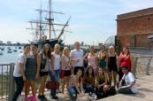 Portsmouth, město s významným přístavem i historickými loděmi, Meridian School of English