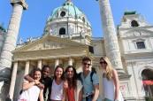 Studenti jazykového kurzu němčiny ve Vídni v Rakousku na škole ActiLingua