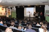 Studenti střední školy Colegio Maravillas ve Španělsku