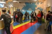 Příjemné prostory jazykové školy Atlantic Language, Galway, Irsko