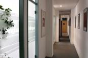 Prostředí jazykové školy Inlingua Berlín je čisté a moderní